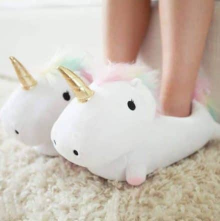 pantoufle - Chaussons Smoko Light Up Unicorn pour femme