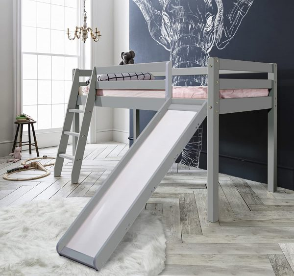 Lit - NOA And Nani - Thor Midsleeper Cabin Bed - (Gris soie)