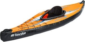 kayak gonflable Sevylor pointer k1 de mer