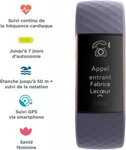 Fitbit Charge 3 - Regarder