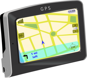 Collier GPS chat