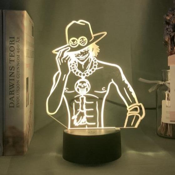 LAMPE MANGA ACE ONE PIECE