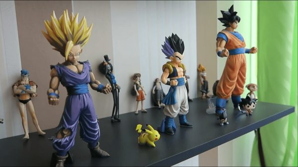 figurines manga : dbz et one piece